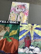 3 Mini Garden Flags in Shorewood, Illinois