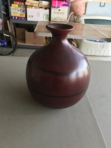 Wooden Vase Decor in Chicago, Illinois