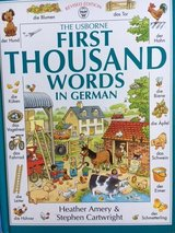 First Thousand Words in German in Ramstein, Germany