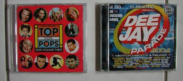 Top of the Pops and Dee Jay Parade (double albums) in Ramstein, Germany