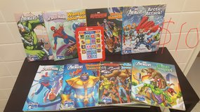 Marvel me reader and books in Okinawa, Japan