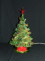 Vintage Ceramic Christmas Tree / Music Box ~ Plays Frosty The Snowman ~ Unique in Chicago, Illinois