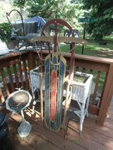Antique Royal Racer toboggan / sled GREAT GRAPHICS!!! in Brookfield, Wisconsin