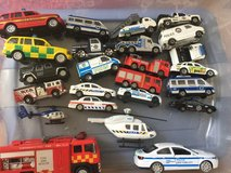 24 emergency responce vehicles in Lakenheath, UK