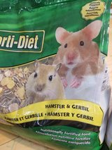New hamster/gerbil food in St. Charles, Illinois