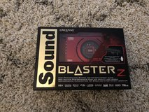 Sound Blaster Z PCle sound card in Ramstein, Germany