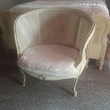 French Provincial Louis XIII Arm Chair Mid Century in Baytown, Texas