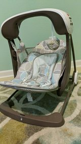 travel folding baby swing in The Woodlands, Texas