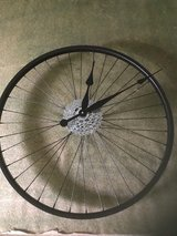 Hand Made New Bike Wheel Clock in Glendale Heights, Illinois