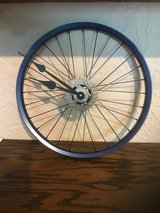 "Hand Made New 16 "" Bike Wheel & Gears Clock in Bolingbrook, Illinois"