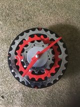 Hand Made Bike Gear Clock in Schaumburg, Illinois