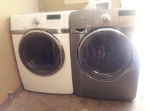 Samsung dryer and front load washer in Tinker AFB, Oklahoma