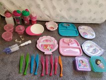 Baby Toddler Girls Sippy Cups Plates Lot in Fort Campbell, Kentucky