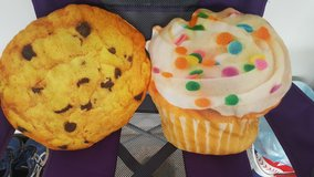 Cupcake and Cookie Throw Pillows in Fort Polk, Louisiana