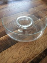 Libby Glass chip/dip bowl.  New.  Never Used. in Wiesbaden, GE