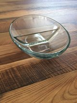 Glass two sided serving bowl.  Perfect condition. in Wiesbaden, GE
