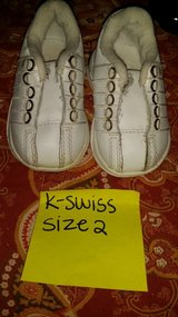 K-Swiss baby shoes in Fort Campbell, Kentucky