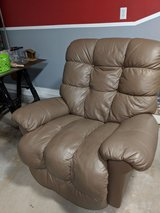 Large Leather Rocker Recliner in Eglin AFB, Florida