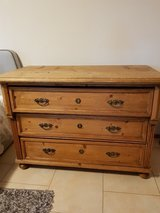 Reclaimed European Pine chest of 3 drawers in Ramstein, Germany