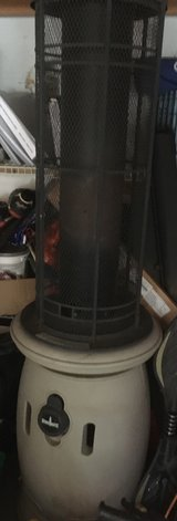 Outdoor heater in Schaumburg, Illinois