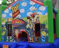 Bounce House and trailer in Virginia Beach, Virginia