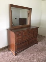 Basset Chest of Drawers and Dresser with Mirror in Beaufort, South Carolina