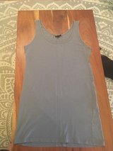 NWOT Topshop Small Soft Slate Grey T Shirt Dress Casual Tank Top Summer Mini Leggings Beach Part... in Houston, Texas