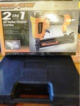 PRO XONE 2 in 1 Air Nailer/Stapler Combo in Fairfield, California