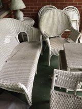 Wicker furniture in Elgin, Illinois