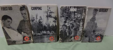 Set/4 Boy Scout Merit Badge Books in Kingwood, Texas