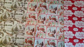 Vintage Christmas Wrapping Paper in Oswego, Illinois