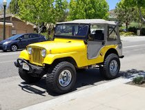 1965 Jeeo cj5 in Camp Pendleton, California