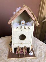 New Hens Outhouse Birdhouse in Travis AFB, California