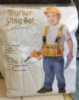 Construction worker Play Set Costume in Fairfield, California