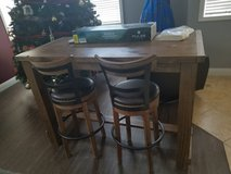 dinning table with 4 swivel bar stools in Las Vegas, Nevada