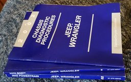 3 manuals for 2002 Jeep Wrangler in Kingwood, Texas