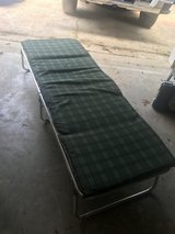 folding cot w/ pad in Rolla, Missouri