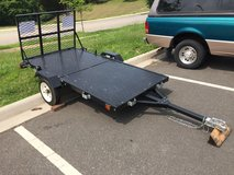 2011 (4'x8') Folding Utility Trailer in Quantico, Virginia