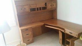 Large Maple Desk - excellent condition in San Diego, California