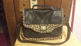 Leopard Print Purse in Fort Riley, Kansas