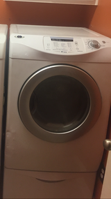 Electric Dryer, Front Loader W/ 2 pedestals MAYTAG Neptune in Kingwood, Texas