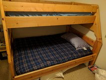 Solid wood bunk beds in Fort Lewis, Washington