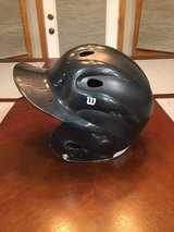 Wilson Boy's baseball batting helmet, fits ages 4-7 in Bolingbrook, Illinois