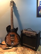 Autographed Epiphone Special II guitar and Crate amp in Chicago, Illinois