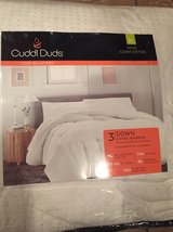 NEW, European White Down King Comforter in Baytown, Texas