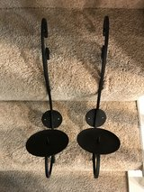 Set of iron Sconces in The Woodlands, Texas