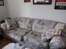 sofa with bed ,love seat and chair in Ramstein, Germany