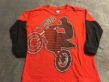 Big boys dirt bike printed long sleeve tee in Fairfield, California
