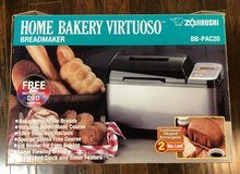 Zojirushi BB-PAC20 Home Bakery Virtuoso Breadmaker in Fort Riley, Kansas