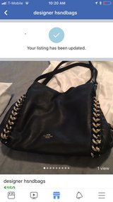 designer coach purse new never ysed in Kingwood, Texas